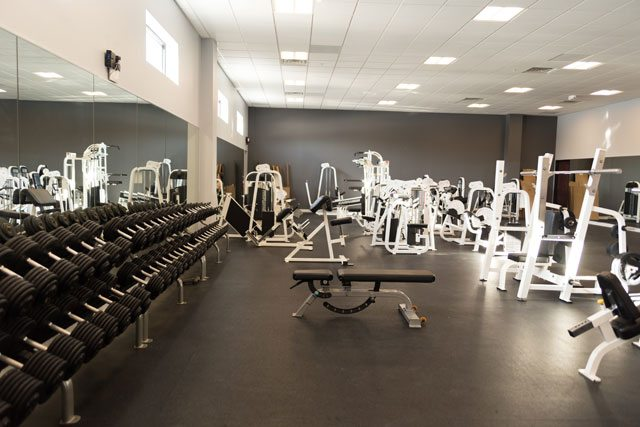 Accelerated Fitness interior photo